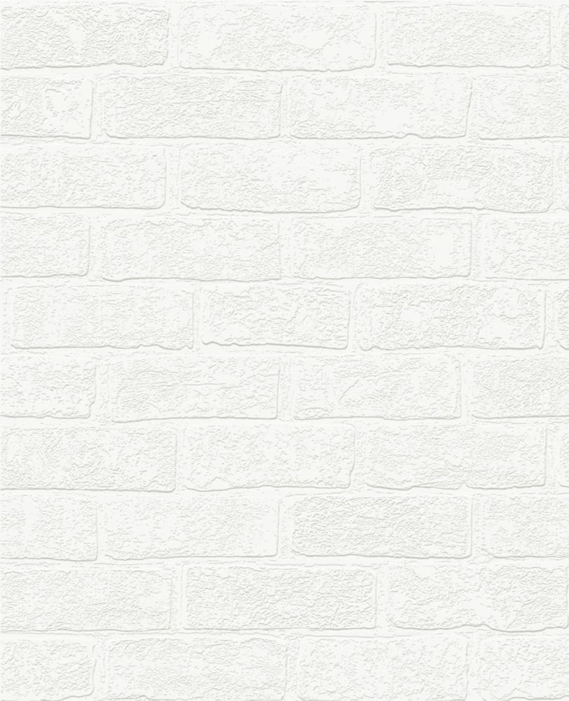 Graham & Brown Superfresco Paintable 100160 Urban Brick Wallpaper